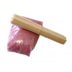 Suikerspinsuiker en stokjes, 50 porties