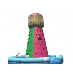 Klimtoren met 4 veiligheidsharnassen, 7 m x 7 m, H 8 m