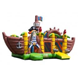 Springkasteel Piratenboot, L 5 m x B 4,5 m x H 4,5 m