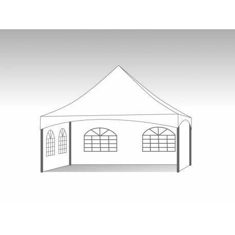 Pagode keder tent ronde palen