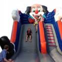 Springkasteel Clown slide