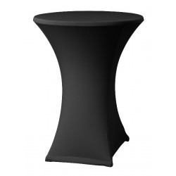Stretch high table cover