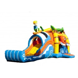 Bouncy castle Beach&Surf without swimming pool