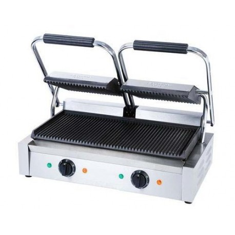 Industriële dubbele toaster grill