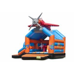 Springkasteel Vliegtuig