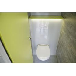 Toilet wagen 100 pers