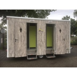 Toilet trailer 100 pers