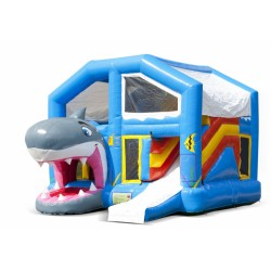 Springkasteel Haai Overdekt