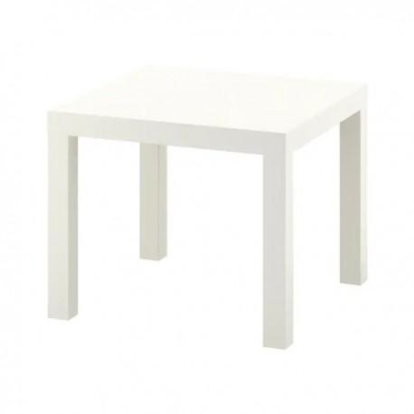 Lounge bijzettafel wit